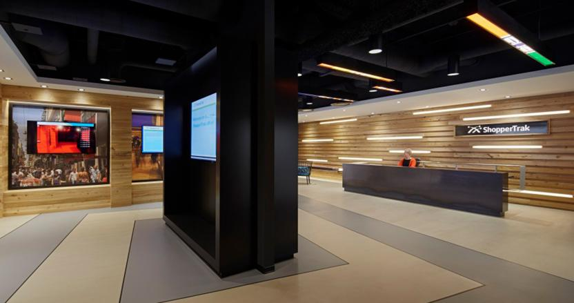 ShopperTrak, Interior, Workplace, Lobby, HED