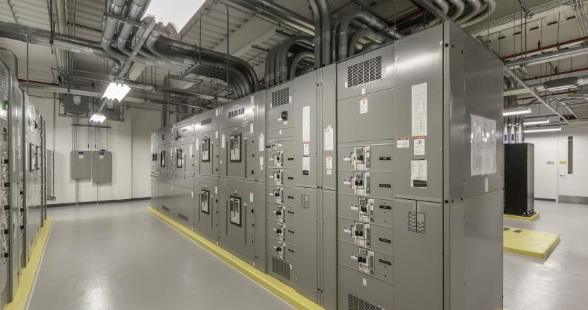 Fidelity Investments, West Data Center Electrical Room