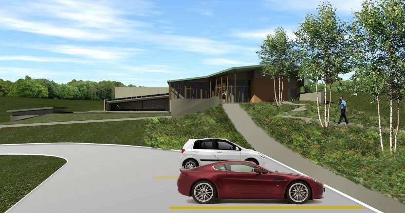 Church of Latter Day Saints, Data Center, Entrance, HED