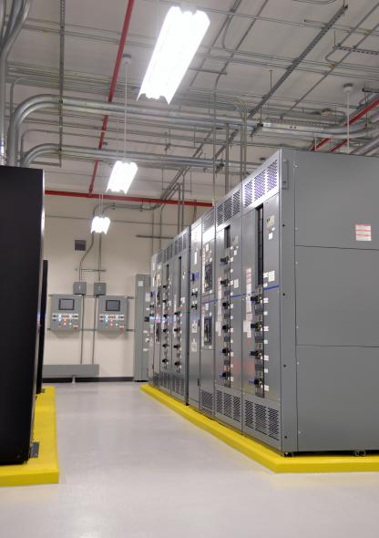 Mathworks Electrical Room
