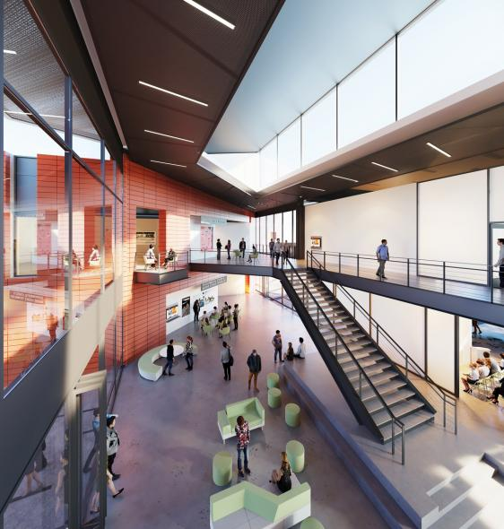 Saddleback College Rendering