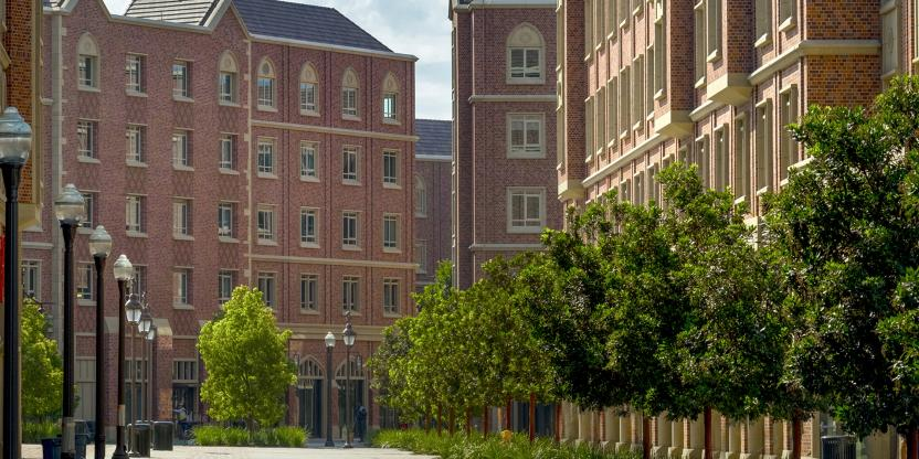 USC Village, University of Southern California