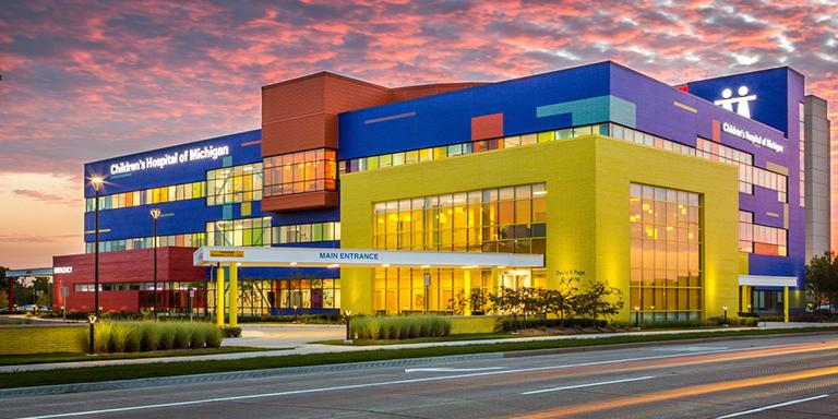 DMC Troy Children's Hospital named CAM's Project of the Year