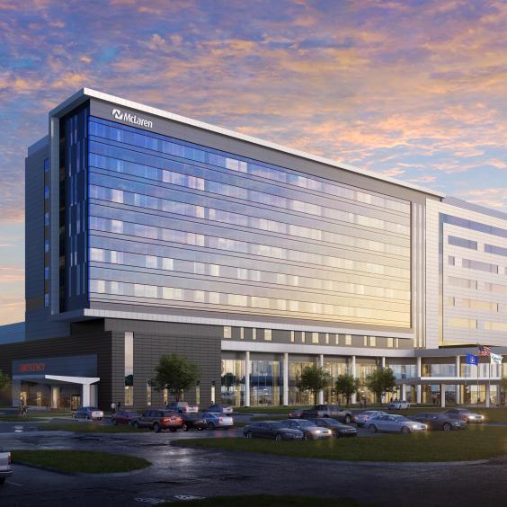 McLaren Greater Lansing Replacement Hospital